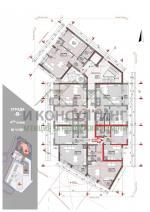 2-комнатная, София,<br />Младост 3, 41 м², 53 700 €<br /><label>продажа</label>